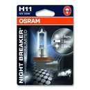 Osram NIGHT BREAKER® UNLIMITED  H1, Halogen 12V,...