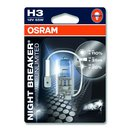 Osram NIGHT BREAKER® UNLIMITED  H3, Halogen 12V,...