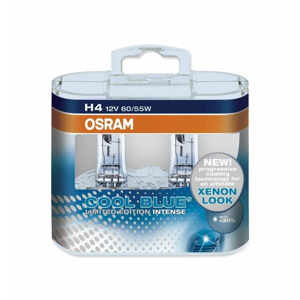 Osram Limited Edition H4, Halogen 12V, DUOBOX - 64193CBL-HCB