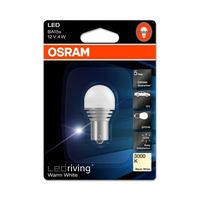 Osram LED Family PY21W,  12V, 1er Blister - 7556WW-01B
