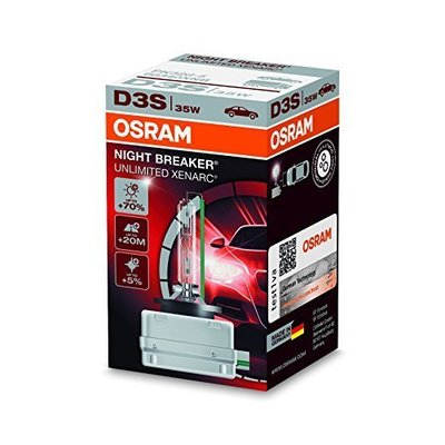 Osram D3S NIGHT BREAKER UNLIMITED - 66340XNB